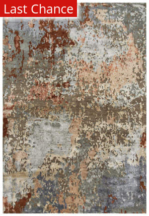Rugstudio Sample Sale 205406R Brown - Gray Area Rug