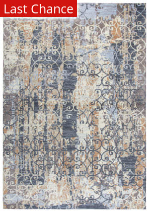 Rugstudio Sample Sale 180051R Grey Area Rug