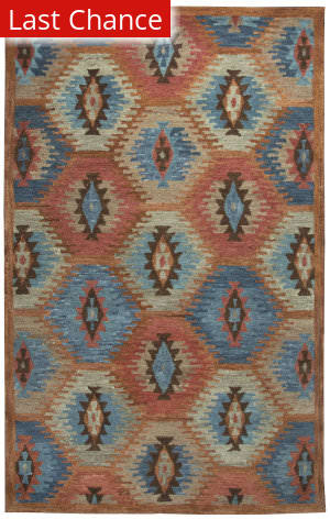 Rugstudio Sample Sale 163612R Paprika Area Rug