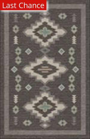 Rugstudio Sample Sale 180116R Charcoal Area Rug