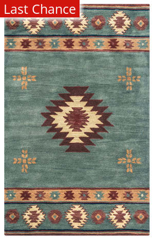 Rugstudio Sample Sale 163758R Gray Blue Area Rug