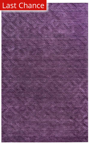 Rugstudio Sample Sale 163805R Purple Area Rug