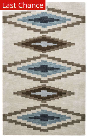 Rugstudio Sample Sale 163817R Beige Area Rug
