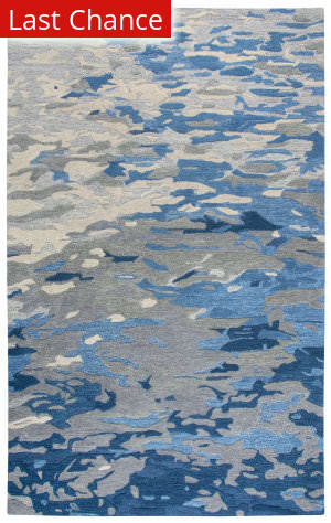 Rugstudio Sample Sale 190400R Blue Area Rug