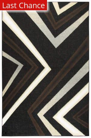 Rugstudio Sample Sale 180230R Black Area Rug
