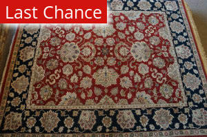 Rugstudio Sample Sale Mm-24 Red - Black Area Rug