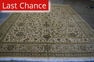 Rugstudio Sample Sale 2749 White Area Rug