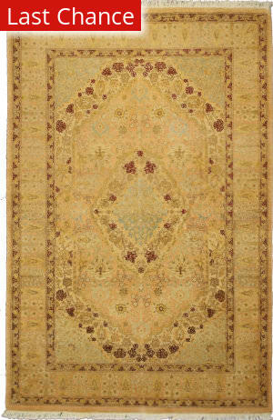 Rugstudio Sample Sale V-1705 Beige Area Rug