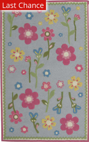Rugstudio Sample Sale Kids Rug Baby Blue Area Rug