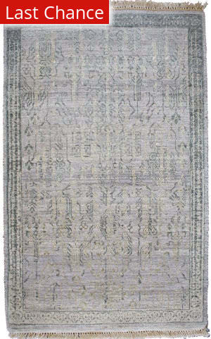 Rugstudio Sample Sale Louise Light Grey Area Rug