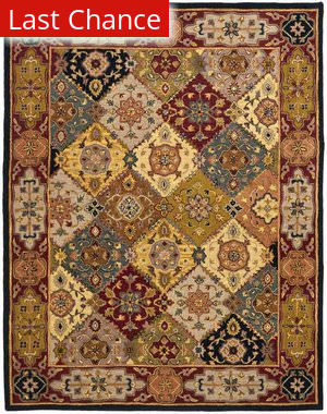 Rugstudio Sample Sale 46755R Multi / Red Area Rug