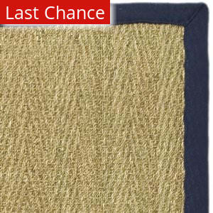 Rugstudio Sample Sale 50130R Natural / Blue Area Rug