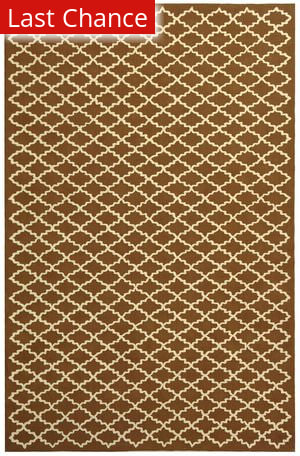 Rugstudio Sample Sale 46934R Chocolate / Ivory Area Rug