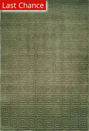 Rugstudio Sample Sale 47379R Green Area Rug