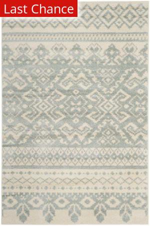 Rugstudio Sample Sale 192426R Ivory - Slate Area Rug