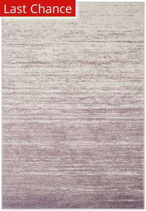 Rugstudio Sample Sale 166043R Cream - Purple Area Rug