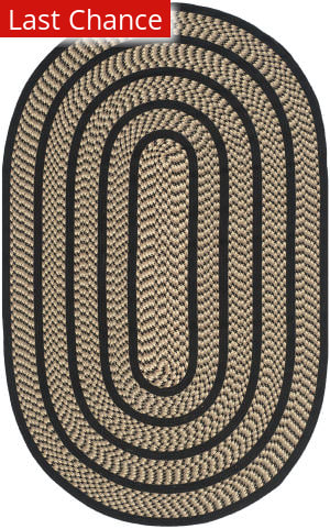 Rugstudio Sample Sale 111919R Beige / Black Area Rug
