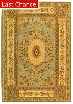 Rugstudio Sample Sale 46323R Light Blue / Ivory Area Rug