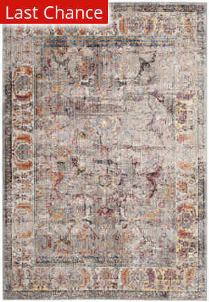 Rugstudio Sample Sale 181937R Grey - Light Grey Area Rug