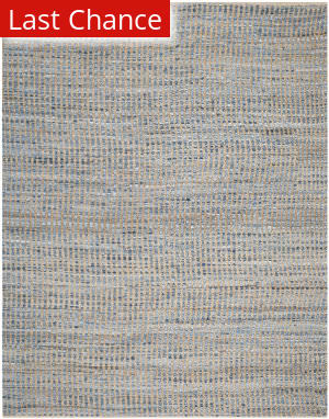 Rugstudio Sample Sale 100416R Natural / Blue Area Rug