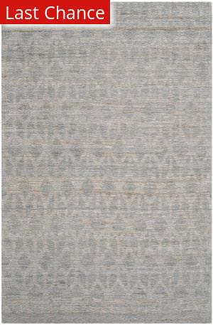 Rugstudio Sample Sale 143199R Grey - Gold Area Rug