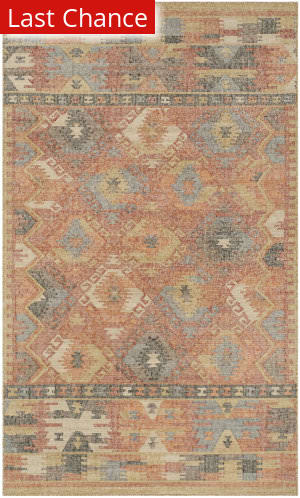 Rugstudio Sample Sale 192674R Red - Multi Area Rug