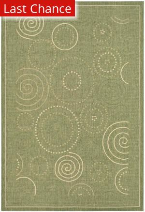 Rugstudio Sample Sale 98697R Olive / Natural Area Rug