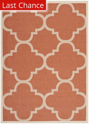 Rugstudio Sample Sale 182020R Terracotta Area Rug