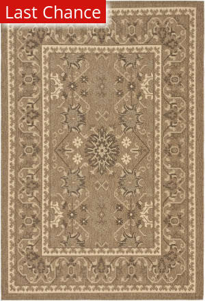 Rugstudio Sample Sale 99007R Chocolate / Cream Area Rug