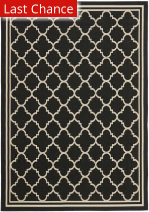 Rugstudio Sample Sale 99056R Black / Beige Area Rug