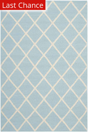 Rugstudio Sample Sale 80572R Light Blue / Ivory Area Rug