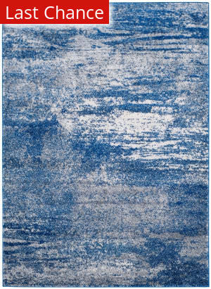 Rugstudio Sample Sale 155290R Navy - Ivory Area Rug