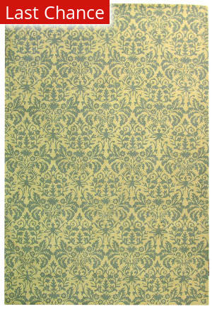Rugstudio Sample Sale 46425R Beige Yellow / Grey Area Rug