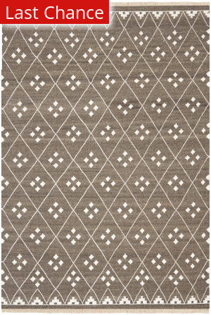 Rugstudio Sample Sale 94524R Brown / Ivory Area Rug