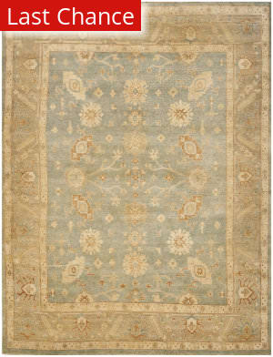 Rugstudio Sample Sale 100684R Light Blue / Beige Area Rug