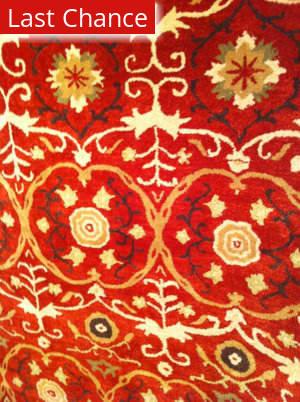 Rugstudio Sample Sale 47172R Red / Multi Area Rug