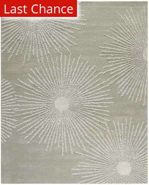 Rugstudio Sample Sale 80876R Grey / Ivory Area Rug