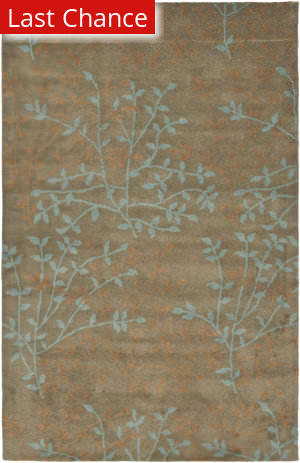 Rugstudio Sample Sale 61381R Light Brown / Multi Area Rug