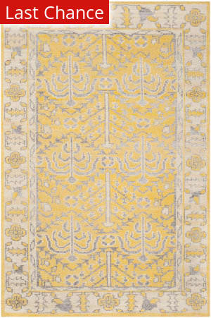 Rugstudio Sample Sale 108098R Yellow Area Rug