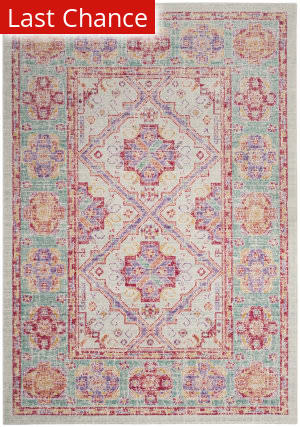 Rugstudio Sample Sale 182670R Spa - Fuchsia Area Rug