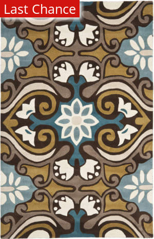 Rugstudio Sample Sale 66421R Blue / Multi Area Rug