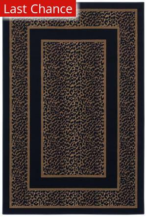 Shaw Woven Expressions Gold Safari Skin Ebony 14500 Area Rug