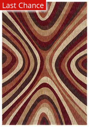 Shaw Angela Adams Mammy Cranberry 02800 Area Rug
