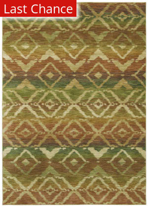 Shaw Tommy Bahama Home-Nylon Canberra Ikat Light Multi 55110 Area Rug