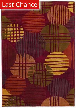 Shaw Reverie Sundown Brick 29800 Area Rug