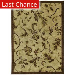Shaw Tommy Bahama Home-Nylon Garden Gate Beige 37100 Area Rug