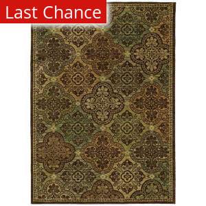 Shaw Tommy Bahama Home-Nylon Moroccan Mosaic Dark Brown 40710 Area Rug
