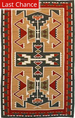 Rugstudio Sample Sale 37315R Tan Area Rug