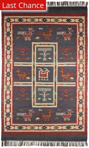 Rugstudio Sample Sale 180702R Blue Area Rug