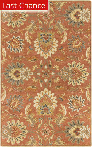 Rugstudio Sample Sale 88015R Red Clay Area Rug